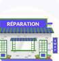 Repair centres icon